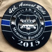 4th Annual Ride Patch (2015)